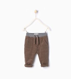 ZARA - KIDS - Ribbed corduroy trousers