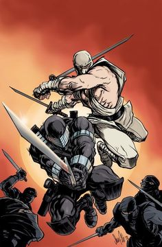 Snake Eyes and Storm Shadow, by ??