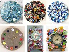 hacer relojes con botones