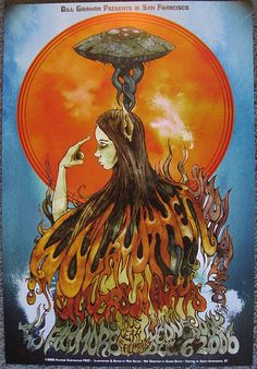 Wolfmother - Fillmore Poster by mmurdock, via Flickr