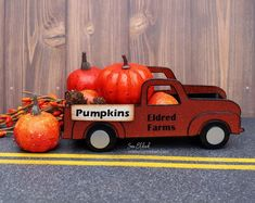 How to create a Vintage Pumpkin Truck using the New Vintage Truck Die from Eileen Hull and Sizzix. @eileen_hull @Sizzix #fall #vintagetruck Creative Workshop, Decoration, Pumpkin Carving, Trucks, Fall Diy, Vintage, Inspiration, Decor, Biblical Inspiration