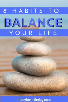 With everything that goes on in a day, it's not always easy to balance things. Love these ideas to simplify and keep your life balanced! How To Be More Organized, How To Get Motivated, Declutter Your Mind, Organize Your Life, Spiritual Psychology, Finding Motivation, Live With Purpose, How To Stop Procrastinating, Time Management Tips
