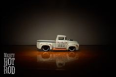 Hot Wheels Hot Trucks - Custom '56 Ford Truck #hotwheels #fordtruck #mightyhotrod #carsphoto #vehicles #toyscars #cars #diecast #models #autos #fun #grey #pictures #wheels #toys #mainline2017
