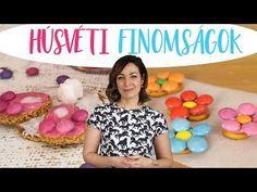 Húsvéti Ehető Dekorációk   CSORBA ANITA - YouTube Spring Desserts, Hacks Diy, More Fun, Make It Yourself, Creative, Youtube, Blog, How To Make, Budapest
