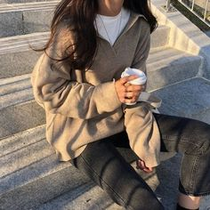 g e o r g i a n a - korean fashion aesthetic outfits soft kfashion ulzzang girl . - g e o r g i a n a – korean fashion aesthetic outfits soft kfashion ulzzang girl 얼짱 casual clo - Moda Ulzzang, Kfashion Ulzzang, Ulzzang Style, Korean Ulzzang, Formal Winter Outfits, Hot Fall Outfits, Korean Street Fashion, Korean Street Style Summer, Korean Style