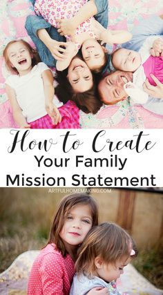 Think of your family mission statement as a road map. It will help you create a shared vision,and live a more intentional, purposeful life. Mission Statement Examples, Family Mission Statements, Family Rules, Family Goals, Family Meeting, Strong Family, Happy Family, I Need Jesus, Create A Family