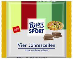 RITTER SPORT Fake Schokolade Vier Jahreszeiten