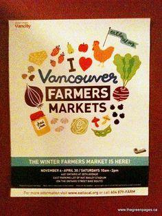 Vancouver Farmer's Markets!