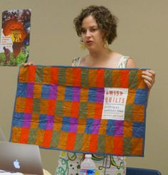 Author and quiltmaker Janneken Smucker on creating the cover of her new book, Amish Quilts: Crafting an American Icon.