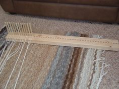 Peg Loom - weave your own rugs, simply and easily with our easy to use loom on Etsy, $55.00
