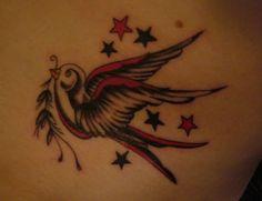 Tattoo Schwalbe sterne www.portroyal.de