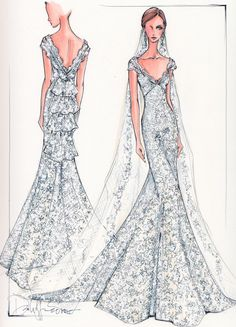 Loving these high fashion sketches! Totally makes me think of Randy to the Rescue!!
