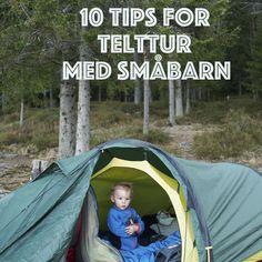 Telttur med småbarn, Camping with kids