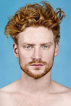 Most models in Mr Knights' exhibition, titled Red Hot, have similar stories of ten-year-long journeys of self-discovery, until they felt they could wear their red hair with pride