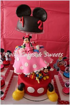 Pastel Minnie Y Mikey Mause