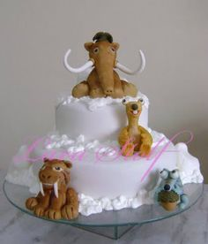 Ice Age Birthday Cake  Tips Kids Party Ideas Themes Decorations