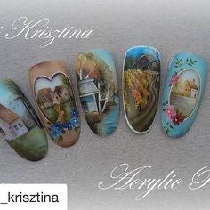 #Repost @ujvari_krisztina (@get_repost) ・・・ #nail#nails#nailart#nailarts#naildesign#naildecoration#naildecor#nailpaint#gelpainting#acrylicpaint#acrylicpainting#gelnails#nailinstagram#ujvarikrisztina#nogtikyrs_идеи