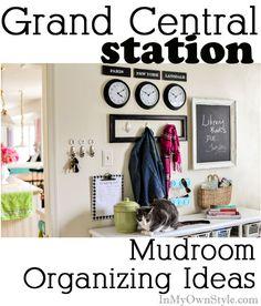Mudroom Decorating and Organizing Ideas