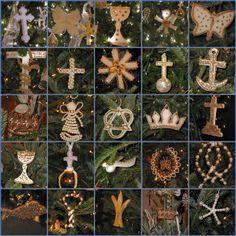 ABT UNK: Advent Calendar: Religion - Chrismons and Jesse Trees