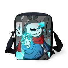f76f85d10b55 Cute 3D Cartoon Undertale School Bags for Boys Girls Children Shoulder Book  Bag Mochila Kids Anime