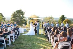 The big moment... a wedding reception at Fruitlands Museum, catering by Fireside Catering #fruitlandsmuseum #firesidecatering #centralmawedding #rustingwedding #newenglandwedding