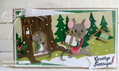 Christmas Mood, Christmas Wrapping, Christmas Cards, 3d Cards, Pop Up Cards, Marianne Design Cards, Collectible Cards, Cricut Cards, Die Cut Cards