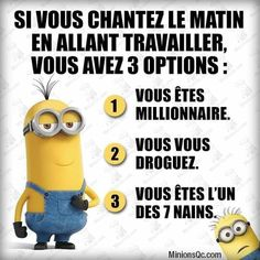 Minions, Messages, Movie Posters, Movies, Fictional Characters, Photos, Funny Stuff, 7 Dwarfs, Laughing