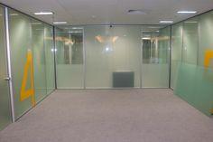 Divisória vidro duplo total