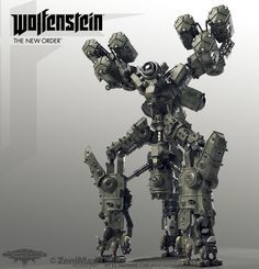 wolfenstein the new order monitor - Buscar con Google