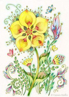 Yellow Joy - Carmen Medlin