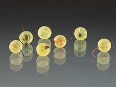 Elizabeth Johnson glass gooseberries