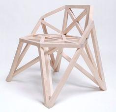 Strelis Bridge Chair by Arthur Analts