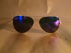 3aeebdc262cb Ray-Ban RB3026 Aviator Sunglasses 62MM Gold Frame Blue Violet Mirror Lens  100%UV  fashion  clothing  shoes  accessories  unisexclothingshoesaccs ...