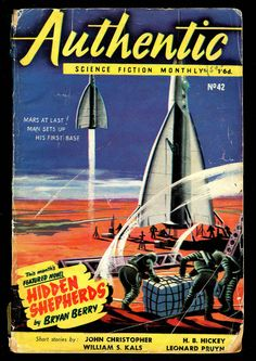 Incredible vintage sci-fi pulp cover art