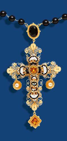 Dolce & Gabbana Filigree & Mosaic Rosary