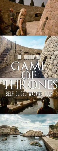 The Dubrovnik Game of Thrones Self-Guided Walking Tour •