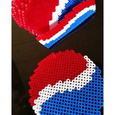Hama perler beads By @shafiebieg - a sucker for pepsi max ;)