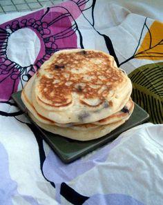 Pancakes super extra fondants (avec pépites de chocolats)