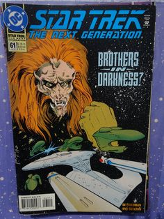 Amazing Rare Vintage Star Trek Comic year july no. 61 in absolute excellent condition, mint new. Comic Book List, Dc Comic Books, Star Trek Books, Sci Fi Fantasy, Dc Comics, Poster, Vintage, Stars, Mint