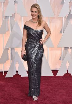 *-*Oscars Red Carpet 2015 -  87th Academy Awards - Arrivals Cheryl Hines arrives at the Oscars on Sunday, Feb. 22, 2015, at the Dolby Theatre in Los Angeles. (Photo by Jordan Strauss/Invision/AP)