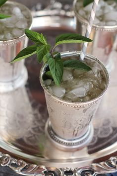 Classic Kentucky Mint Julep | Camille Styles