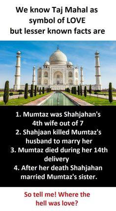 Truth of Taj Mahal