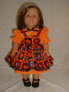 American Girl / 18 Inch Doll Clothes  HALLOWEEN by JustDollClothes, $18.00
