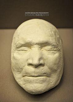 Death Mask of Sitting Bull (1890)