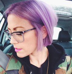 Kelli's #lavenderhair done by me @Vanity Corner Hair Boutique #vanitycorner #erinkoslohair