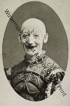 Odd bizarre strange #weird creepy crazy #freaky really scary clown #vintage pic,  View more on the LINK: http://www.zeppy.io/product/gb/2/141724100924/