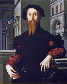 Bronzino - Portrait of Bartolomeo Panciatichi (1541-45)