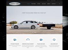 Hard Top Home Page - Ecommerce