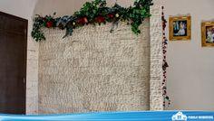 Muro llorón en la sala  Más informes en: http://pueblaresidencial.com/listing/residencia-en-san-jose-del-puente-casasenventaenpuebla
