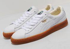 Puma Basket Classic   White/Gum